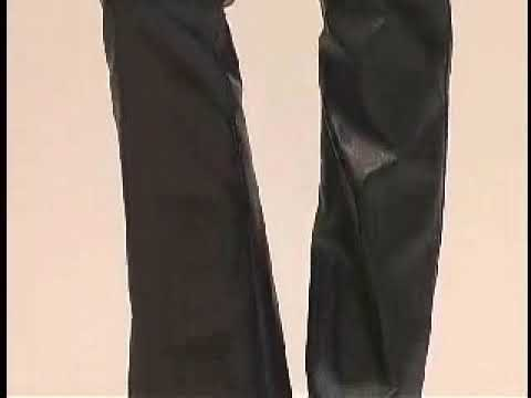 Leather Pants and High Heel Boots - YouTube