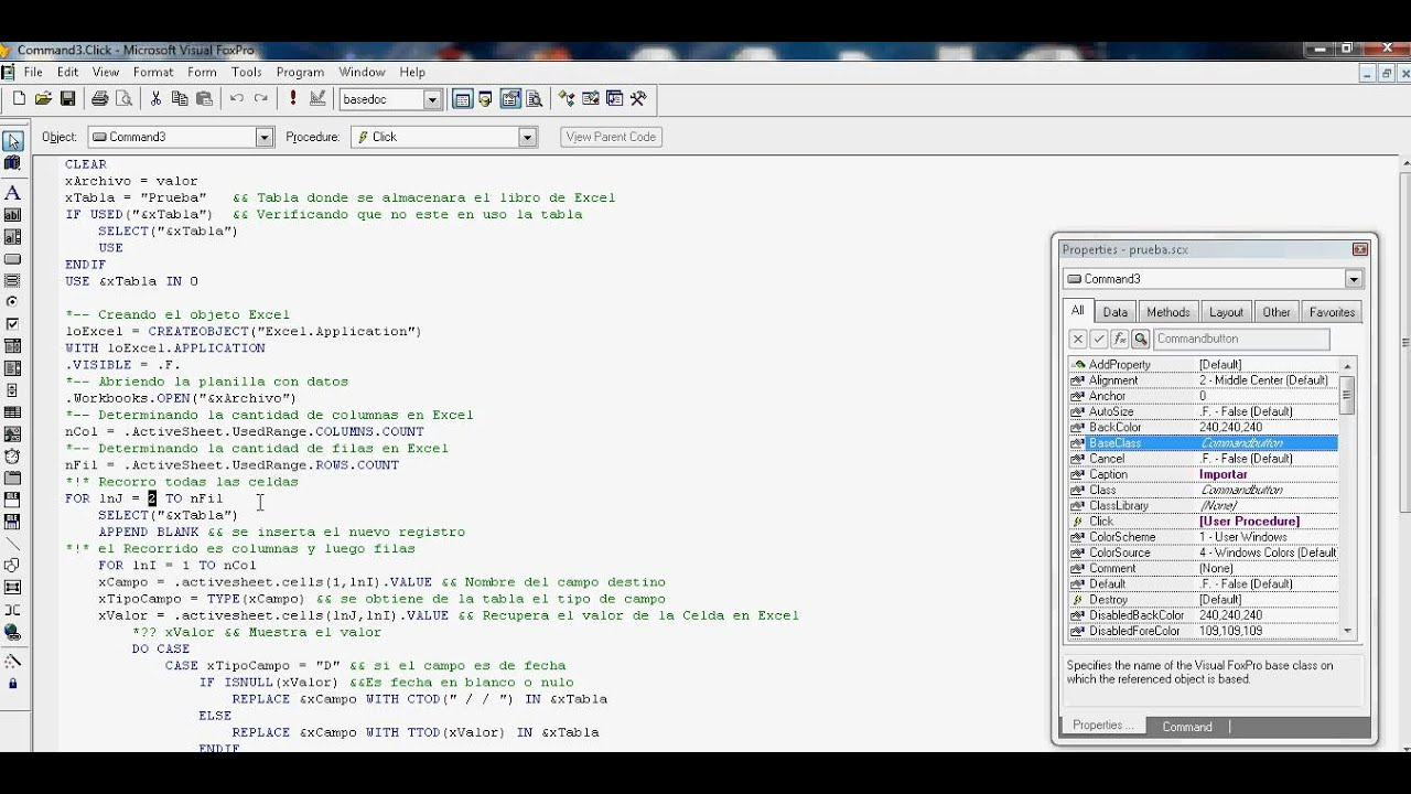 oops with foxpro Visual foxpro is quite capable in almost all aspects, except for application  can  mixandmatch oop with functional programming, all variables are in effect.