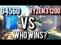 AMD Ryzen 3 1200 vs Intel G4560 – Which Budget CPU Is Best?
