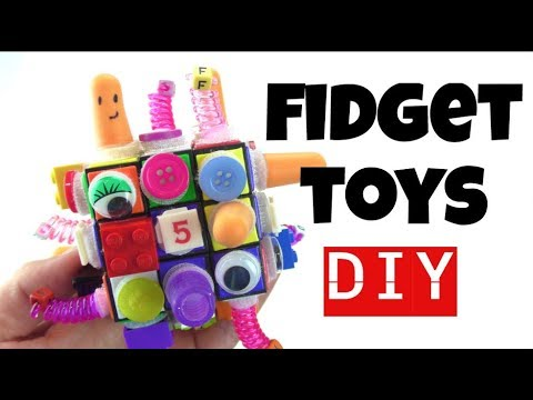 NEW! Fantastic Fidget Cube - DIY FIDGET TOYS - EASY DIY TOYS FOR KIDS TO MAKE USING HOUSEHOLD ITEMS