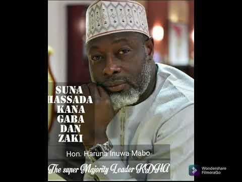 Download wakar majority leader kaduna state  hon haruna mabo official Audio Album by Usman s Aliyu