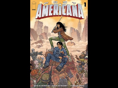 POST AMERICANA #1 by Steve Skroce, video trailer | Image Comics