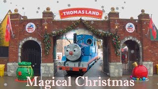 Thomas Land Magical Christmas - Drayton Manor amusement park #Littlemoments