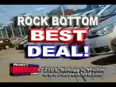 rusty eck ford wichita kansas summer cash event youtube. Black Bedroom Furniture Sets. Home Design Ideas