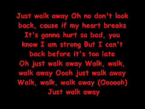 Just walk away - High School Musical 3 .