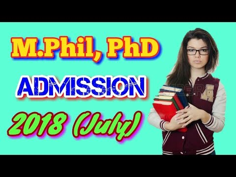 IGNOU M.Phil & PhD Admission Notification 2018 (July).