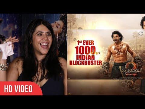 Baahubali 2 Is Not A Movie Its A Sensation   Ekta Kapoor Reaction On Baahubali 2 Success