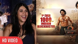 Baahubali 2 is not a movie its a sensation | ekta kapoor reaction on baahubali 2 success