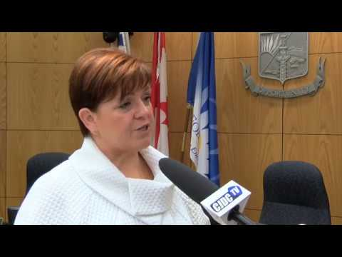 Local politicians speak with premier at Union of BC Municipalities Convention