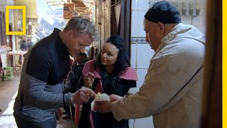 Gordon Ramsay Explores the Medina of Fez | Gordon Ramsay: Uncharted