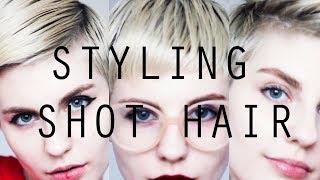 STYLING SHOT HAIR | УКЛАДКИ НА КОРОТКИЕ ВОЛОСЫ