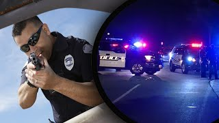 Top Ten CRAZIEST Police Shootouts (Caught on camera)