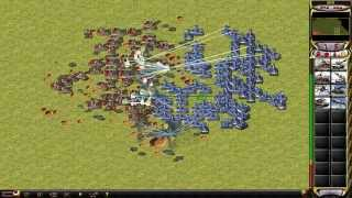 Red Alert 2 [180 apocalypse tanks vs 180 prism tanks]