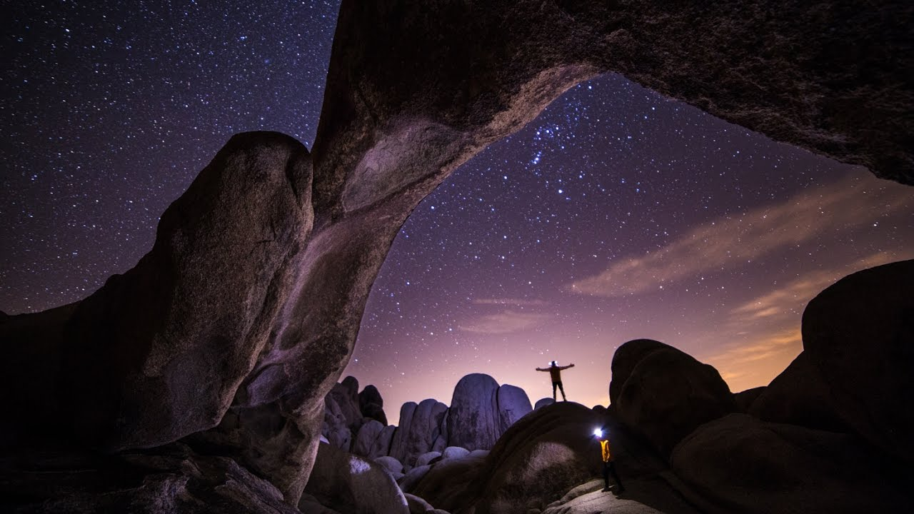 Star Photography in Joshua Tree National Park YouTube