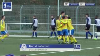 A-Junioren - FC Astoria Walldorf vs. SV Waldhof Mannheim 3-1 - Marcel Heller