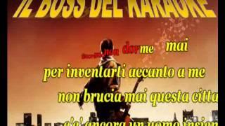 KARAOKE  SE BRUCIASSE LA CITTA