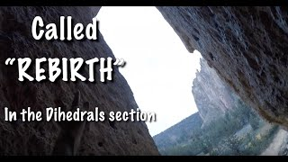 "Smith Rock ""Rebirth"" 5.8 Chimney Lead"