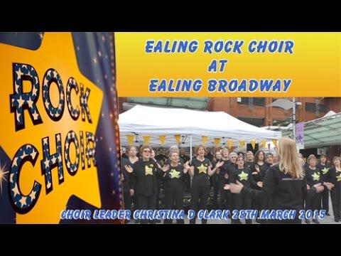 Ealing Rock Choir at Ealing Broadway