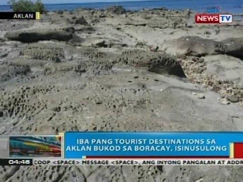 Iba pang tourist destinations sa Aklan bukod sa Boracay, isinusulong