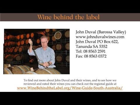 John Duval | Winery | Vineyard, Barossa Valley, South Australia Wine Guide - Wine Behind The Label