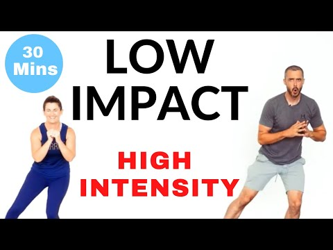 Low impact, high intensity intermediate home cardio workout