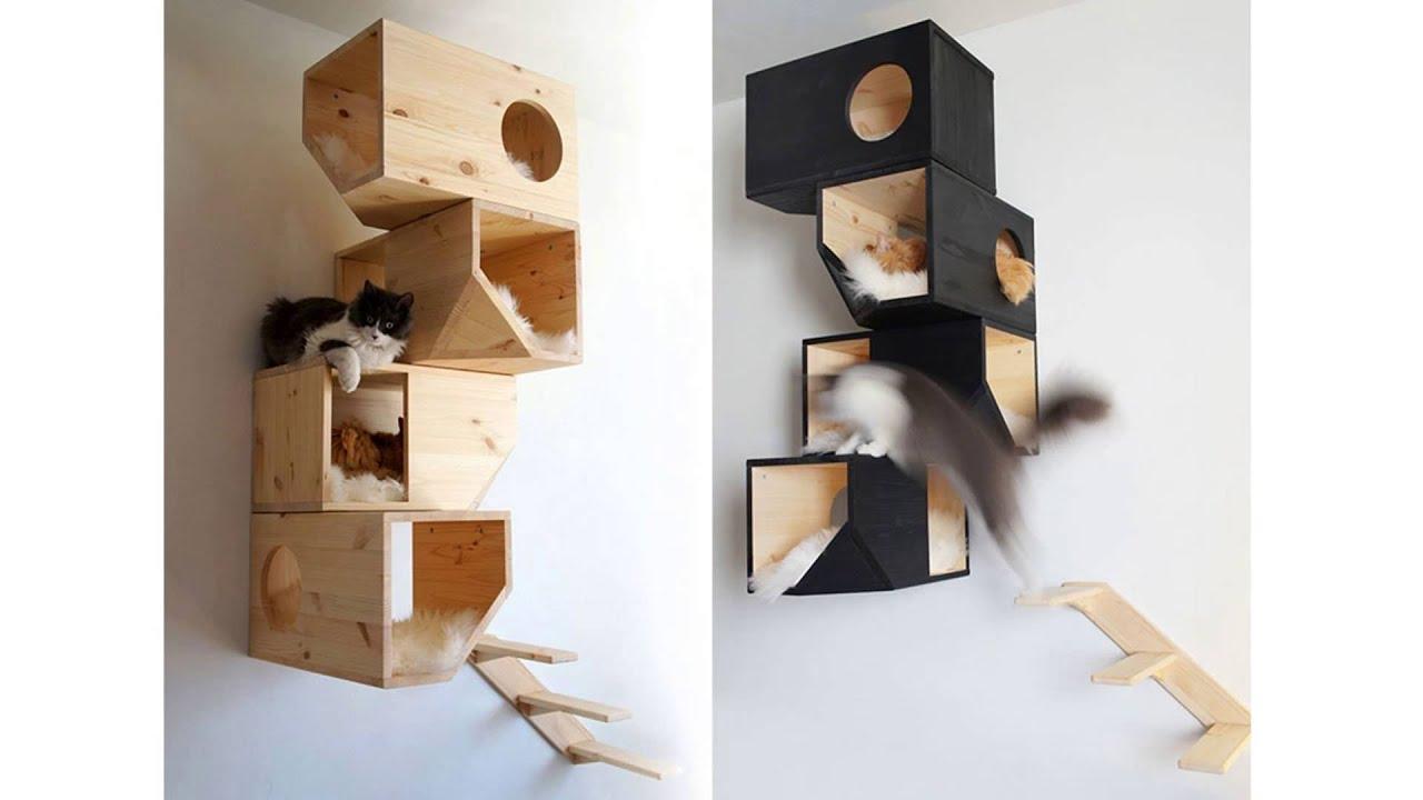 Griffoir Chat Fait Maison comment fabriquer un arbre à chat - [guide de base]