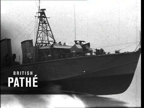 New Naval Turbine Patrol Boats AKA New Turbine Speed Launch (1953)