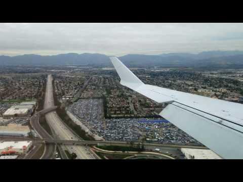 Landing in Burbank, CA