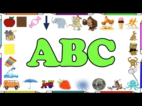 Alphabet Lyrics Song - ABC letters