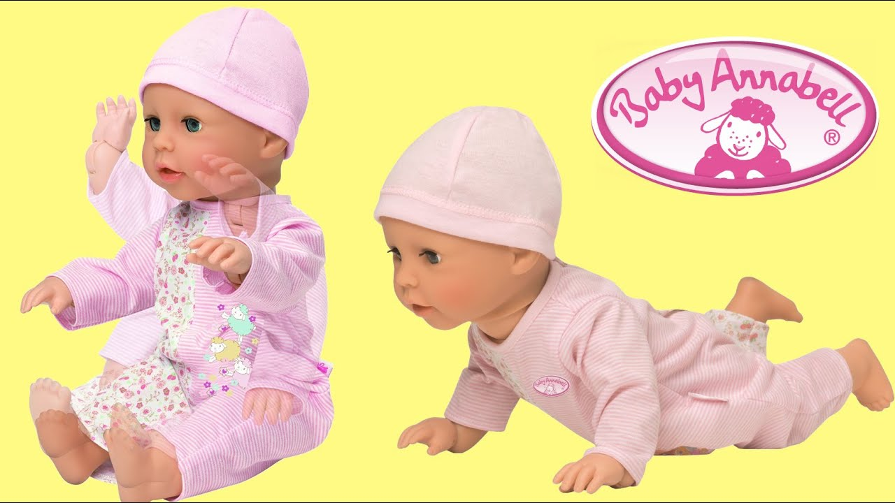 Baby Annabell Learns To Walk Baby Doll Like A Real Baby