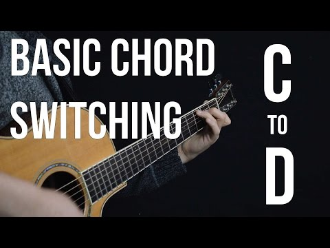 Chord Switching Practice - C to D