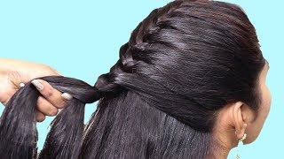 5 Quick Braided Hairstyle 2019 | Step By Step hairstyles For Beginners | hair style girl | Hairstyle