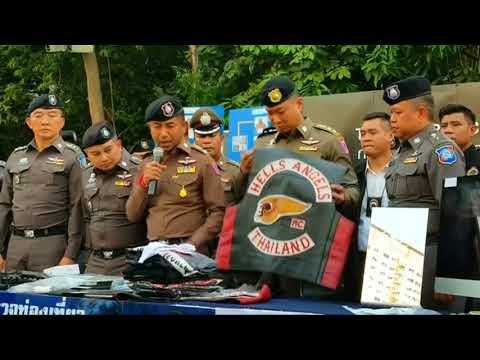 Thai police arrest four Hells Angels gang members in raid