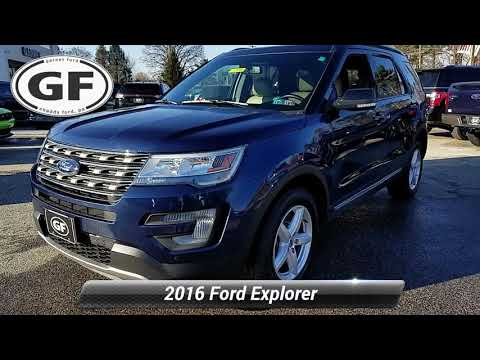 Certified 2016 Ford Explorer XLT, West Chester, PA 0000V708