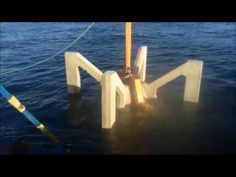New Shoalhaven offshore artificial reef deployed