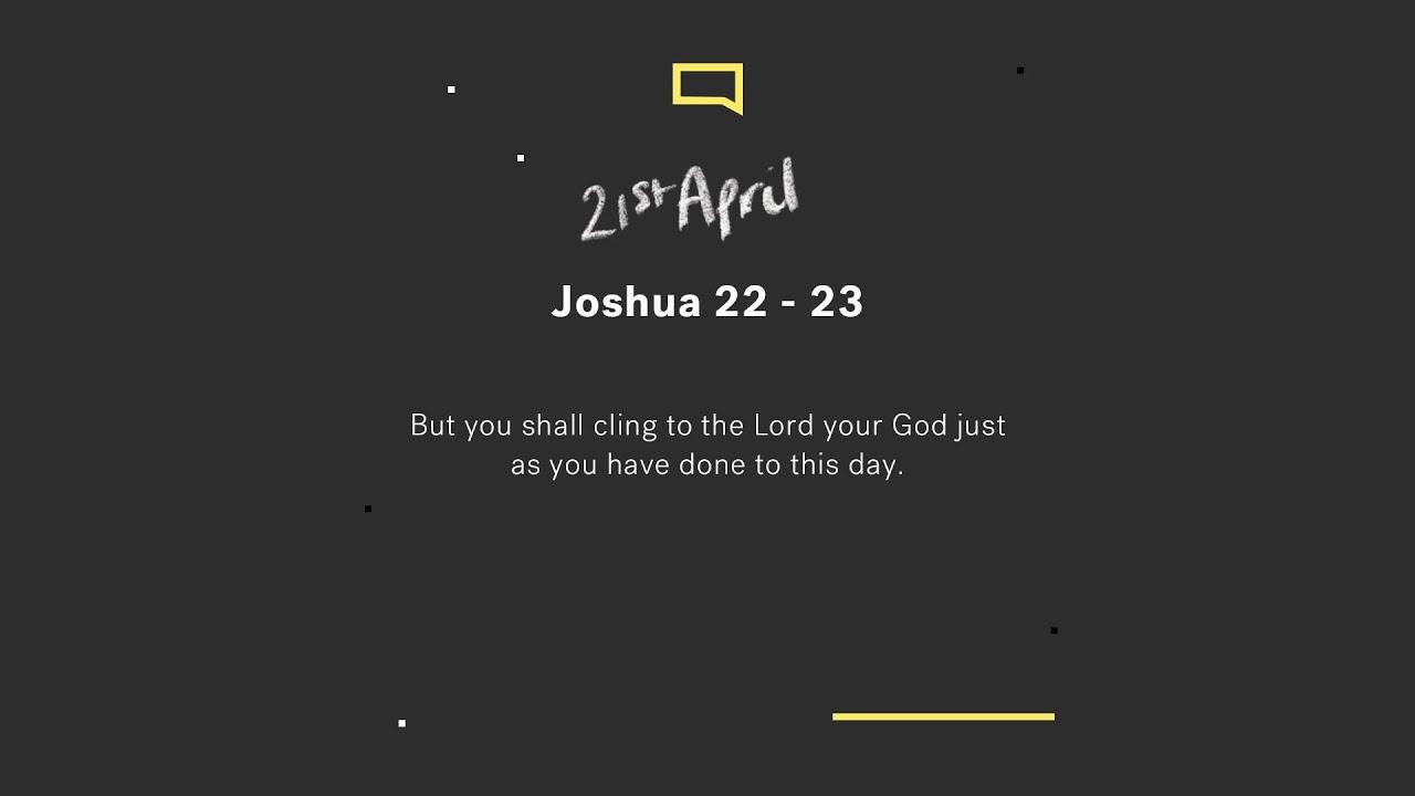 Daily Devotion with Nicola McCoosh // Joshua 22-23 Cover Image