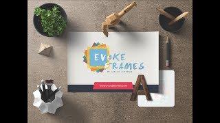 Evoke Frames works