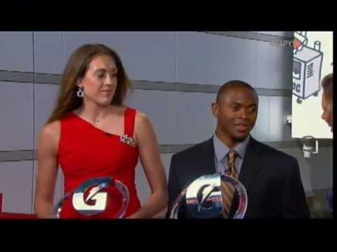 Girls basketball star Breanna Stewart is bigger than football star Johnathan Gray