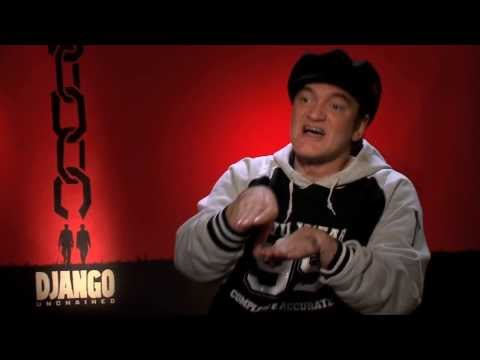 Quentin Tarantino interview Django Unchained, Reservoir Dogs, Pulp Fiction, Kill Bill, True Romance