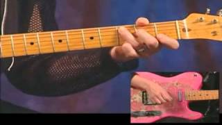 The Cars Power Chord Progression on Guitar