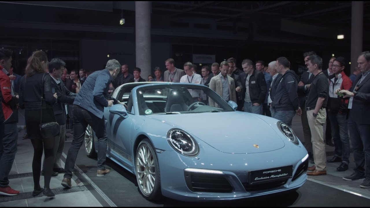 "911 Targa 4S >> Porsche Exclusive – the 911 Targa 4S Exclusive Design Edition: ""Everything starts with an idea ..."