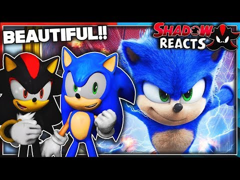 Sonic & Shadow Reacts To Sonic The Hedgehog (2020) - New Official Trailer - Paramount Pictures!