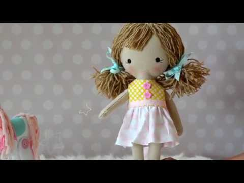 Preview ITH Cloth Doll By Planet Applique