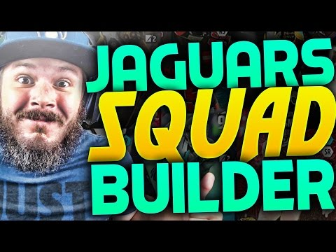 ALL-TIME JACKSONVILLE JAGUARS SQUAD BUILDERS & GAMEPLAY | MADDEN 16 ULTIMATE TEAM