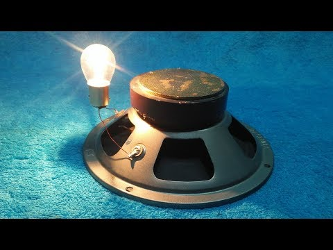 Смотреть Make a Free Energy With Speaker And Copper Wire 200% Real New Technology онлайн