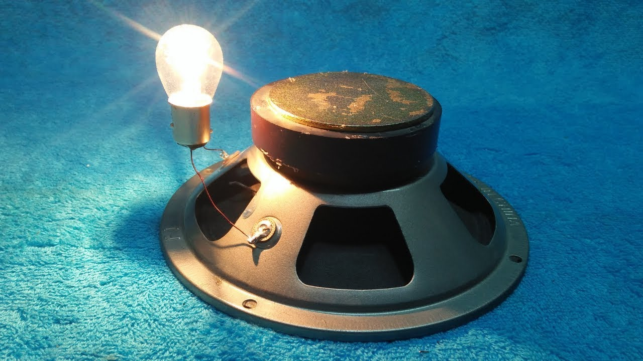 Make a Free Energy With Speaker And Copper Wire 200% Real New ...