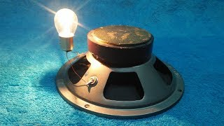Make a Free Energy With Speaker And Copper Wire 200% Real New Technology
