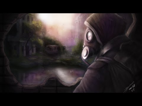 The Last Sunset – Landscape – Speed Painting – Post Apocalyptic Concept Art – Time-lapse