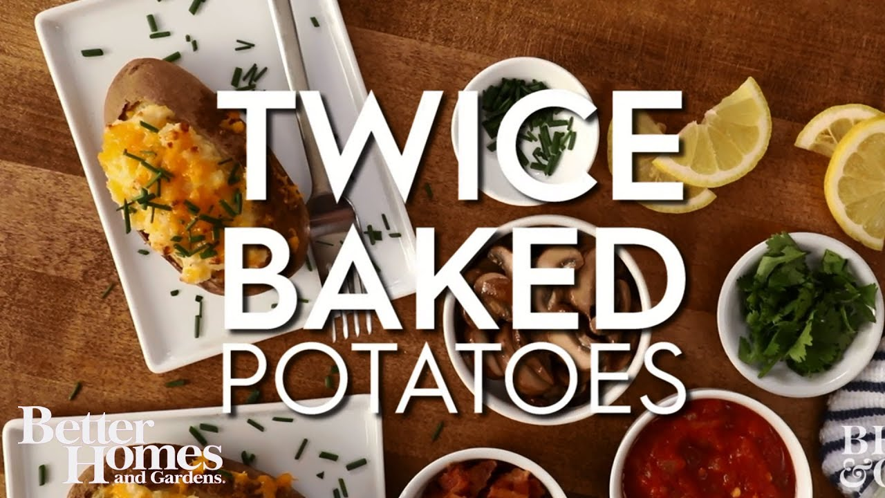 Twice-Baked Potatoes - YouTube