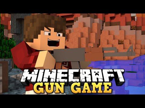 GUN GAME! Novo Minigame no Minecraft Games!!!